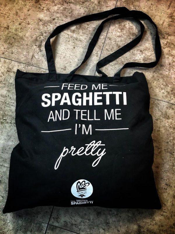 Mister Spaghetti Draagtas